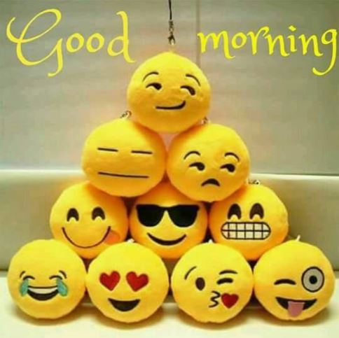 Emojis Good Morning Images Pic