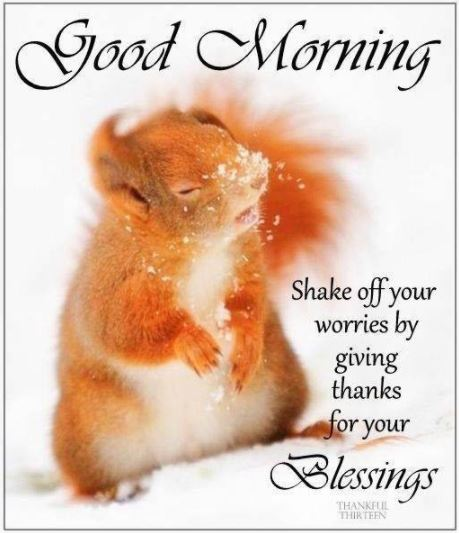 Good Morning Blessings for Friends and Family Image