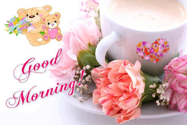 Good Morning Flowers Image Pic