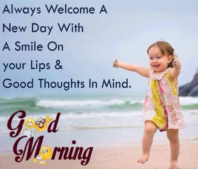 New Day Good Morning Thoughts Images with Quotes
