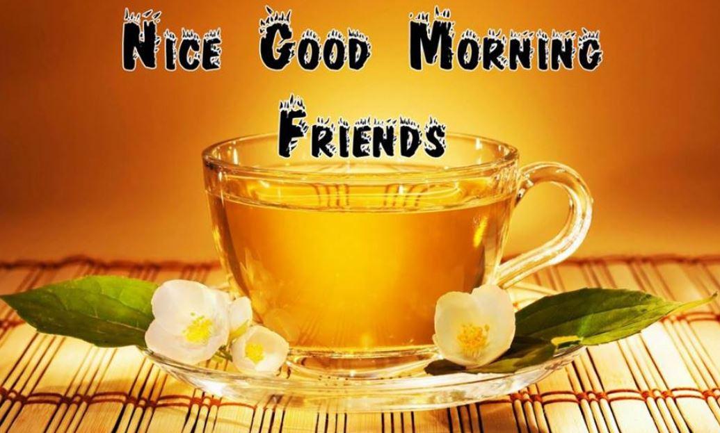 Nice Good Morning Friends Image