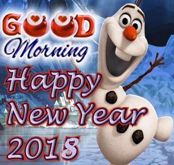 Good Morning Happy New Year 2018