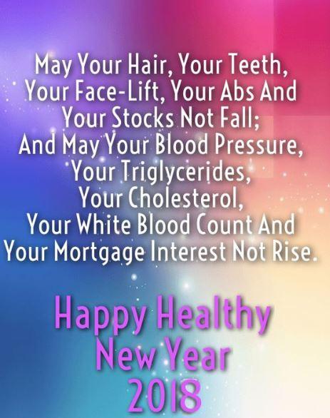 Happy Healthy New Year 2018