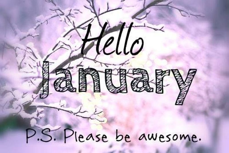 Hello January 2018 Images