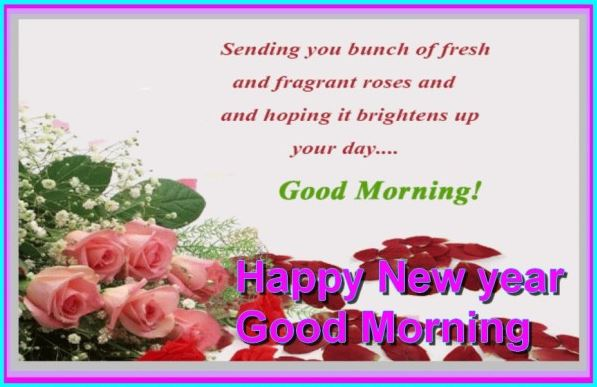 New Year Good Morning Pictures Image