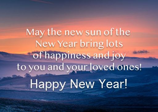 New Year Morning Sun Quotes Wishes