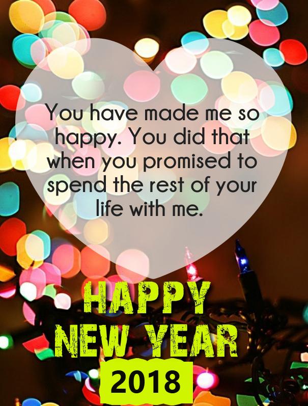 Romantic New Year 2018 Quotes