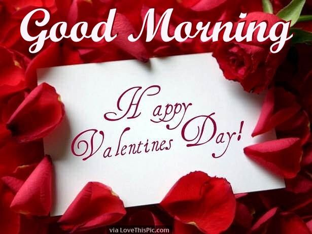 Good Morning Happy Valentine's Day Image-1