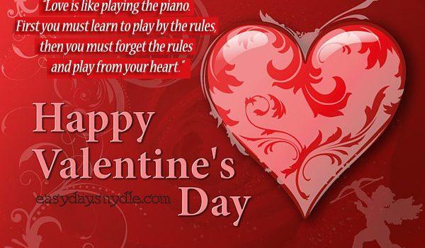 Happy Valentine's Day Heart Love Image