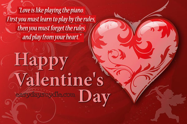 Happy Valentine's Day Heart Love Image
