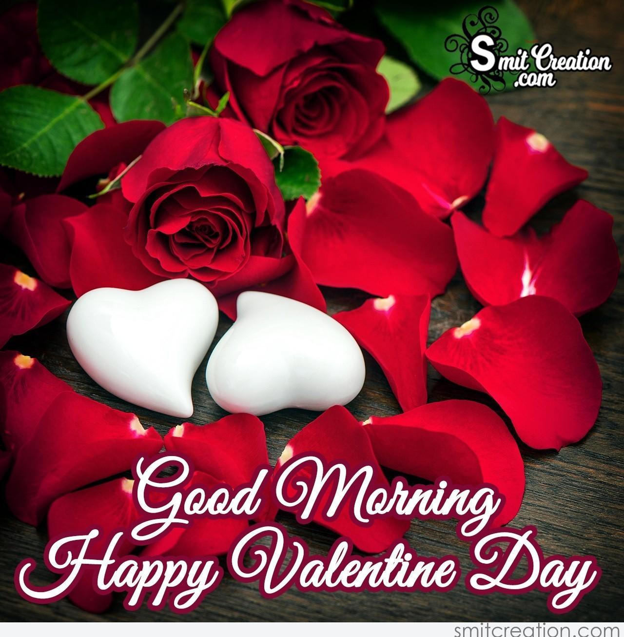 Good Morning Valentine's Day Love Image