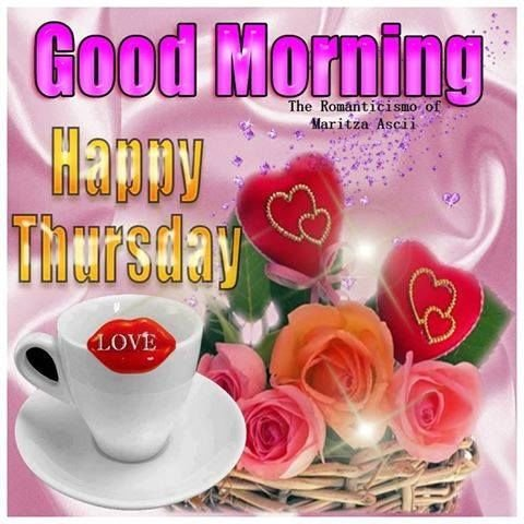 Good Morning Happy Thursday Valentines Day Images with Quotes