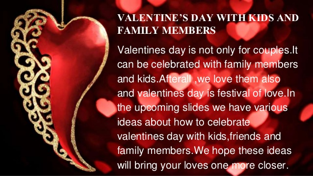 Valentines Day with Family Members Image Picture