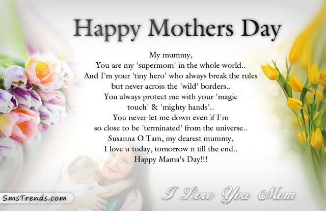 Best Happy Mothers Day Wishes Quotes Image - A Mother's Day Wish