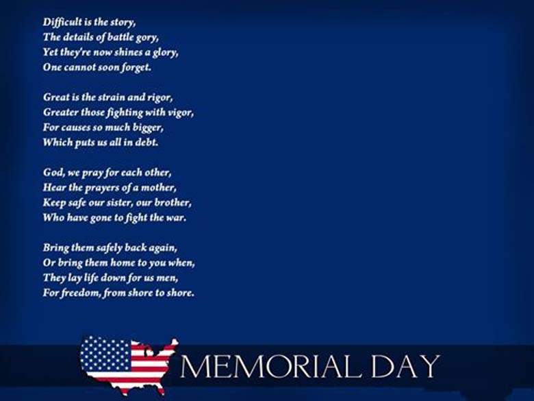 Best and Famous Memorial Day Poems Prayer Images