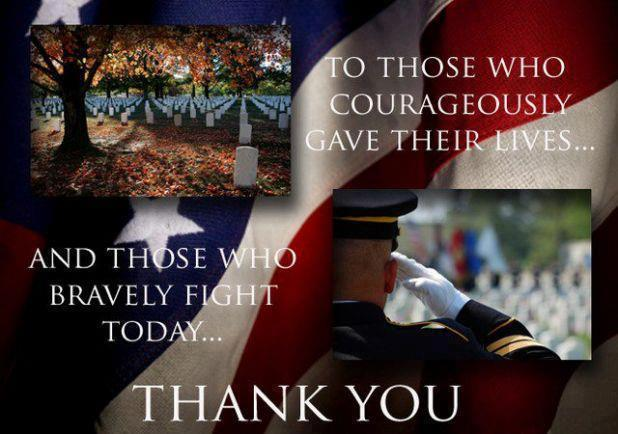 Famous Memorial Day Quotes with Thank You Today and Everyday
