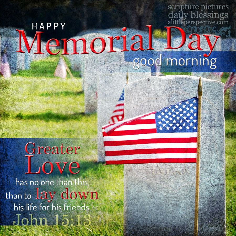 Happy Memorial Day Good Morning Blessing Quotes Pic
