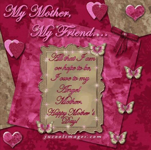Happy Mothers Day Friend Mom Images