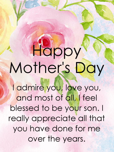 Happy Mothers Day Greetings Quotes with Images