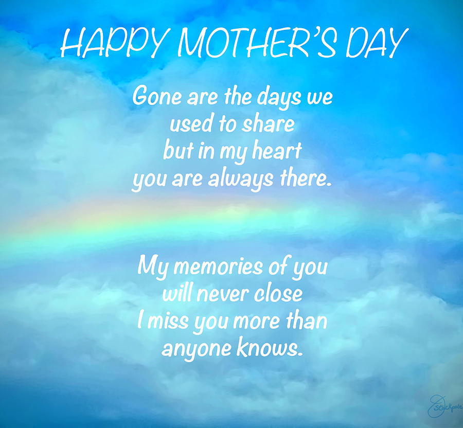 Happy Mothers Day I Miss You Mom Quotes Images