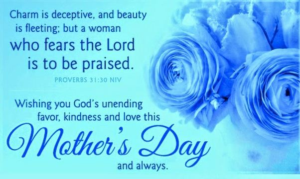 Happy Mothers Day from the Bible Verses Quotes Images