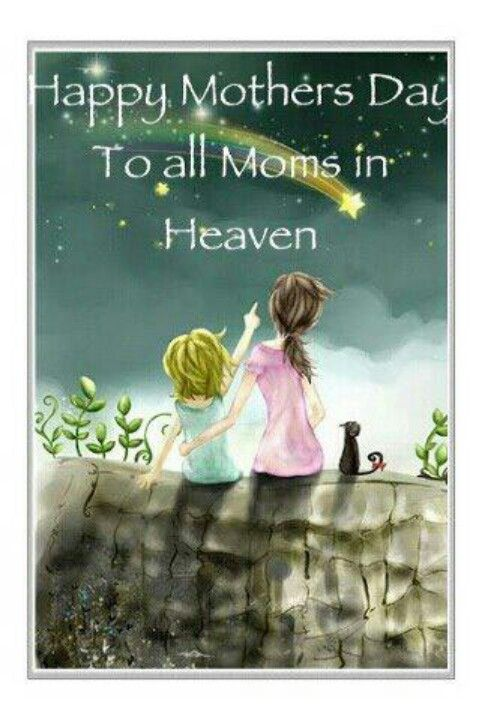 Happy Mothers Day to all Moms in Heaven