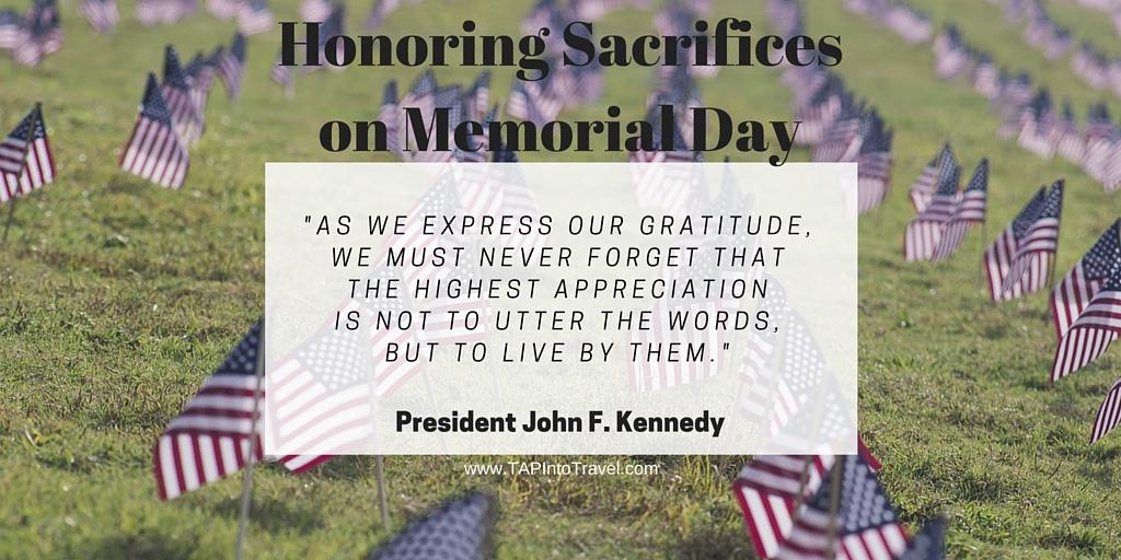 Honoring Sacrifices on Memorial Day Speeches President John F.Kennedy