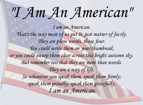 I am an American Quotes