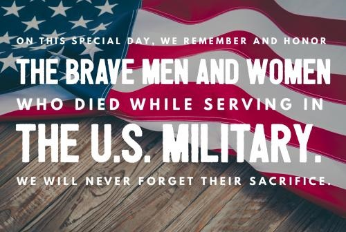 Memorial Day Quotes U.S. Military