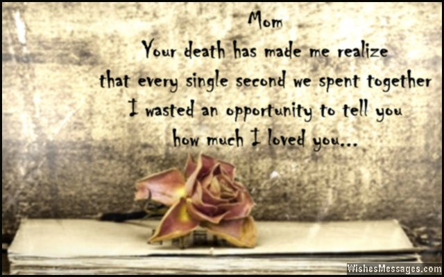 Mom in Heaven Missing Mom Quotes Images