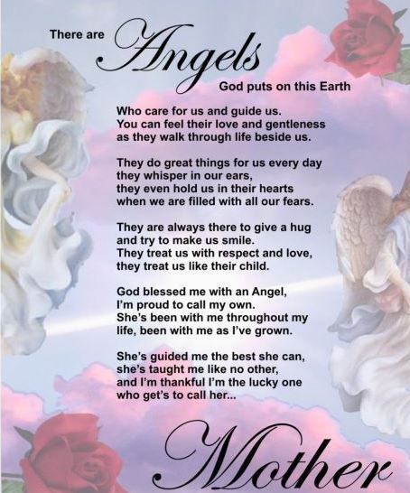 Mom in Heaven Poems from Daughter Happy Mothers Day Images