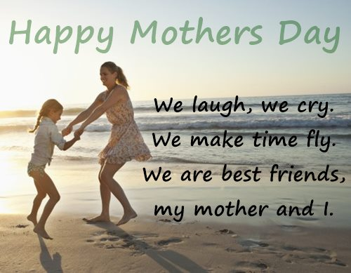Mothers Day Wishes from Daughter Image