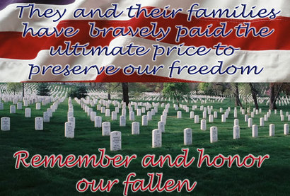 Remember and Honor our Fallen Memorial Day Sayings Quotes Images