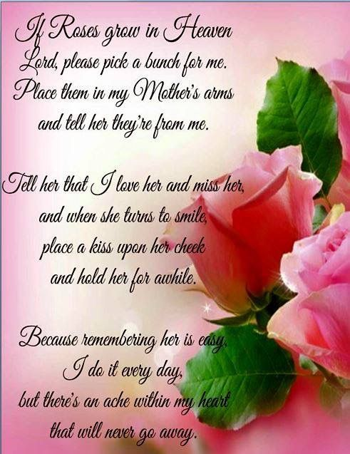 Remembering Mom Missing Quotes Poems Images