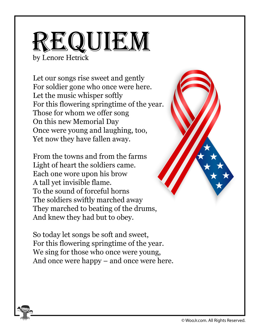 Requiem Memorial Day Prayer Songs for Kids Picture