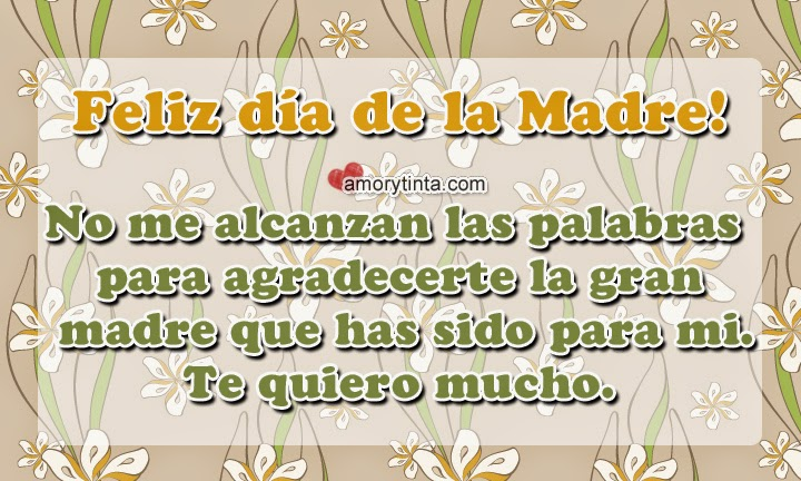Short Mothers Day Quotes in Spanish English Image