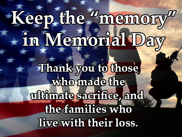 Thank You for Ultimate Sacrifice Memorial Day Sayings Thank You Quotes