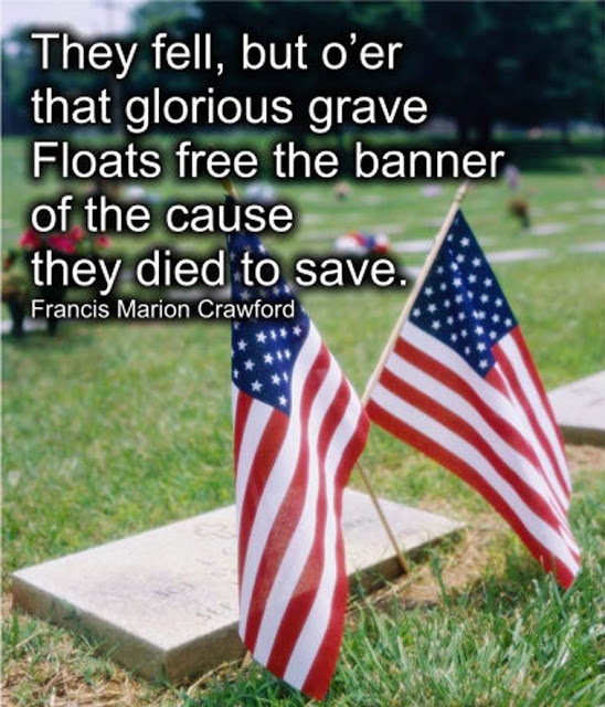 They died to serve Memorial Day Quotes Images