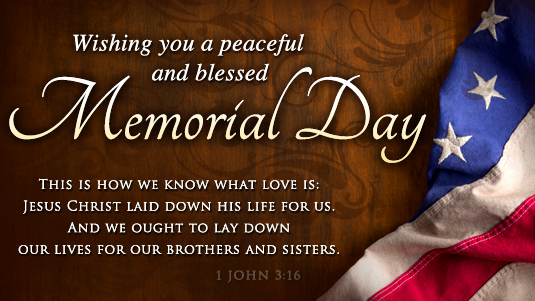 Wishing you a peaceful and blessed Memorial Day Quotes Picture Images