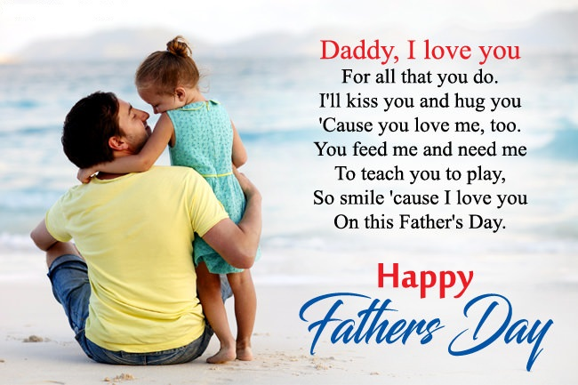 Happy Fathers Day Messages from Daughter, Son, Wife - Card ...
