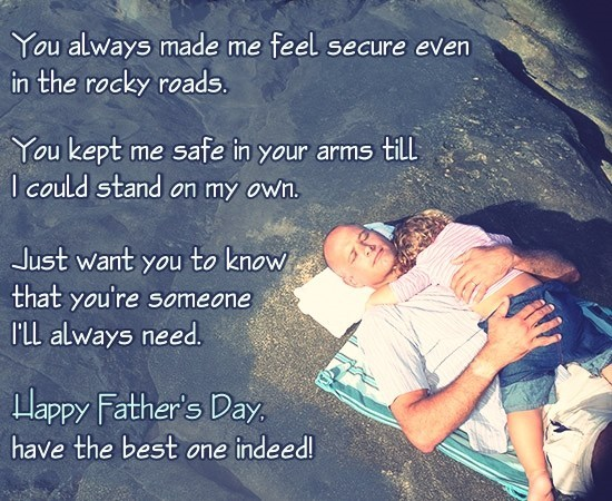 Best Happy Fathers Day Quotes from Daughter Images