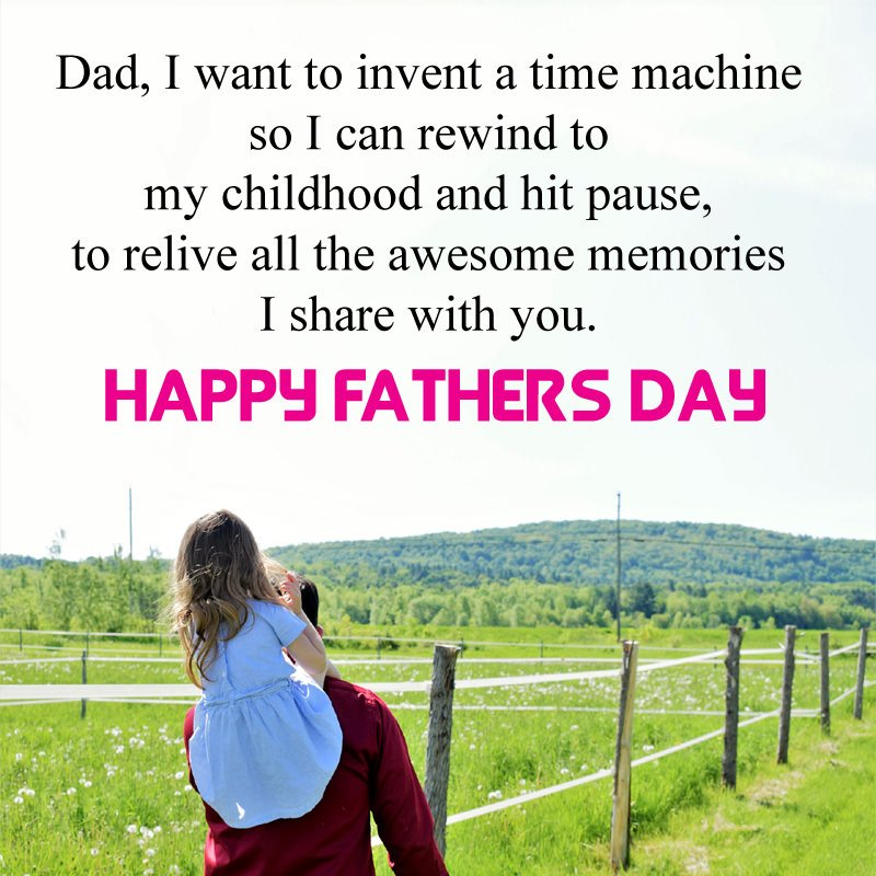 Cute Fathers Day Quotes from Daughter Son