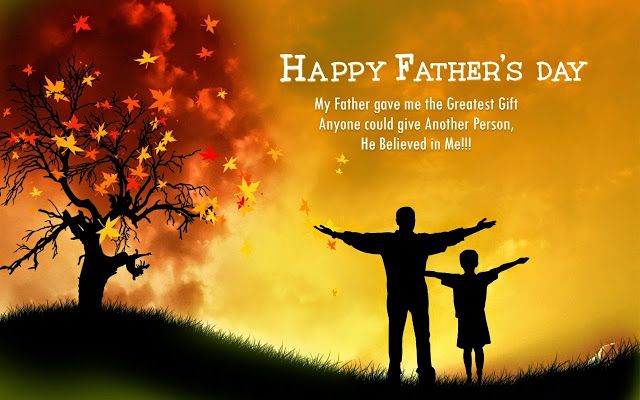 Cute Inspirational Happy Father's Day Quotes Image