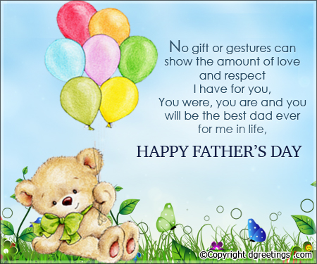 Fathers Day Quotes from Son Image