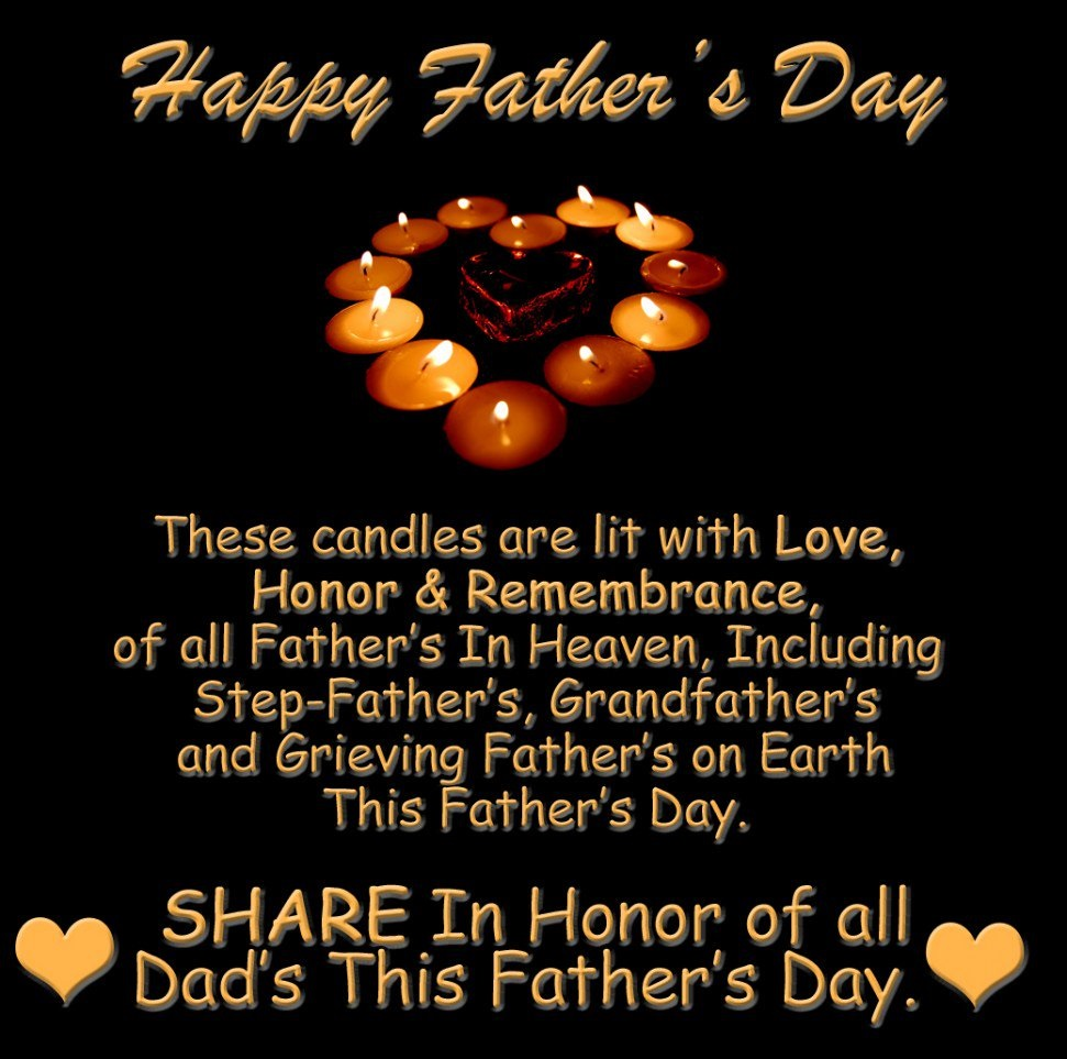Happy Fathers Day Quotes Heaven Images