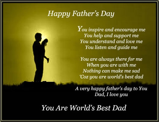 Happy Fathers Day Quotes World's Best Dad Images