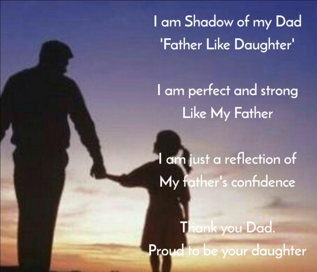 Thank You Dad Father's Day Daughter Quotes