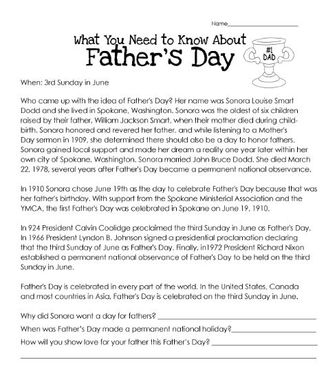 What You Need To Know About Father's Day - History, Origin, Facts, and Celebrations
