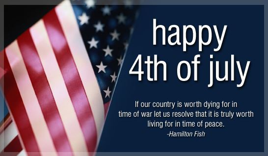 Happy 4th Of July Freedom Quotes and Sayings