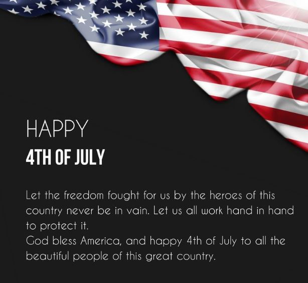 Happy Fourth 4th Of July Inspirational Quotes and Sayings